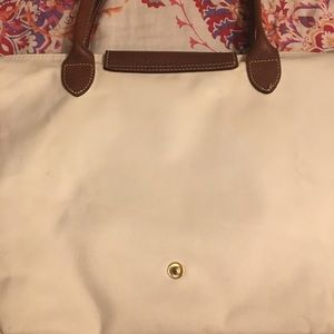 Longchamp Bags - Longchamp Medium Pilage Tote - 15x10x5 White